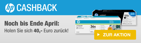 HP Cashback Aktion
